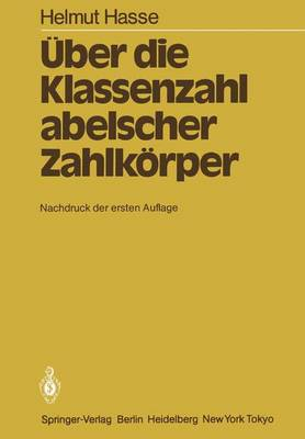 Uber die Klassenzahl Abelscher Zahlkorper (Paperback)