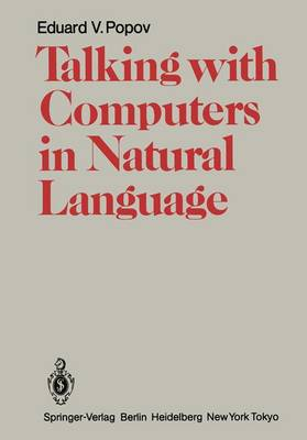 Talking with Computers in Natural Language (Paperback)