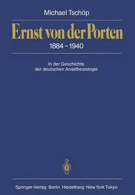 Ernst Von Der Porten 1884-1940 (Paperback)