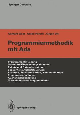 Programmiermethodik Mit Ada - Springer Compass International (Paperback)