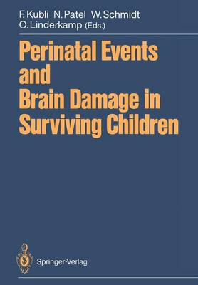 Perinatal Events and Brain Damage in Surviving Children: Based on Papers Presented at an International Conference Held in Heidelberg in 1986 (Paperback)