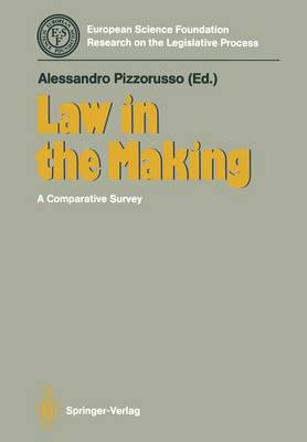 Law in the Making: A Comparative Survey (Paperback)