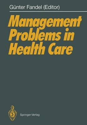 Management Problems in Health Care (Paperback)