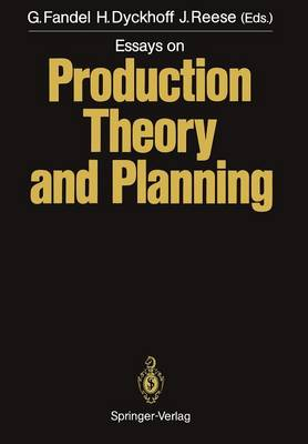 Essays on Production Theory and Planning (Paperback)