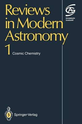 Cosmic Chemistry - Reviews in Modern Astronomy 1 (Paperback)