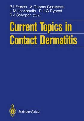 Current Topics in Contact Dermatitis (Paperback)