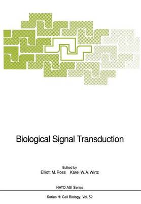 Biological Signal Transduction - Nato ASI Subseries H: 52 (Paperback)