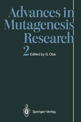 Advances in Mutagenesis Research 2 - Advances in Mutagenesis Research 2 (Paperback)
