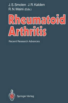 Rheumatoid Arthritis: Recent Research Advances (Paperback)