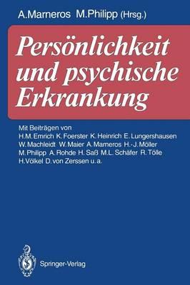 Personlichkeit und Psychische Erkrankung (Paperback)