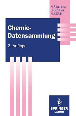 Chemie -- Datensammlung - Springer Labormanuale (Paperback)