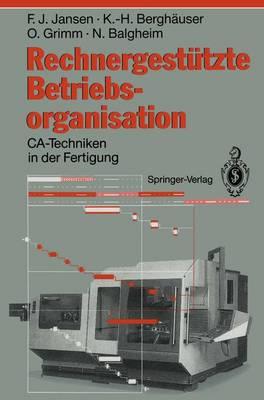 Rechnergestutzte Betriebsorganisation (Paperback)