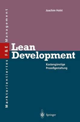 Lean Development - Innovations- und Technologiemanagement (Paperback)