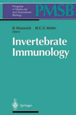 Invertebrate Immunology - Progress in Molecular and Subcellular Biology 15 (Paperback)