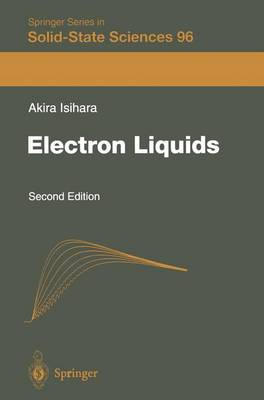 Electron Liquids - Springer Series in Solid-State Sciences 96 (Paperback)