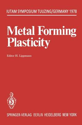 Metal Forming Plasticity: Symposium Tutzing/Germany August 28-September 3, 1978 - IUTAM Symposia (Paperback)