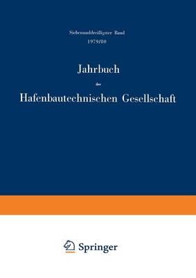 1979/80 - Jahrbuch der Hafenbautechnischen Gesellschaft 37 (Paperback)