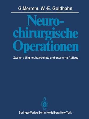 Neurochirurgische Operationen (Paperback)