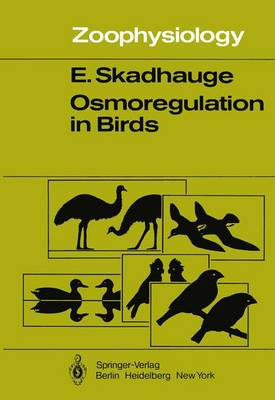 Osmoregulation in Birds - Zoophysiology 12 (Paperback)