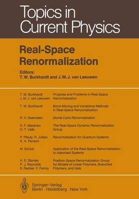 Real-Space Renormalization - Topics in Current Physics 30 (Paperback)
