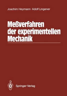 Messverfahren der Experimentellen Mechanik (Paperback)