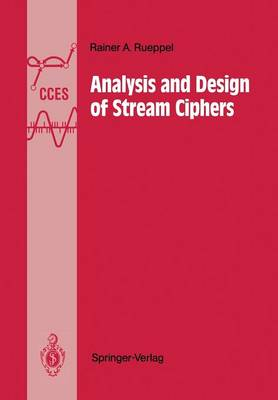 Analysis and Design of Stream Ciphers - Communications and Control Engineering (Paperback)