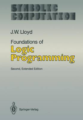 Foundations of Logic Programming - Artificial Intelligence (Paperback)