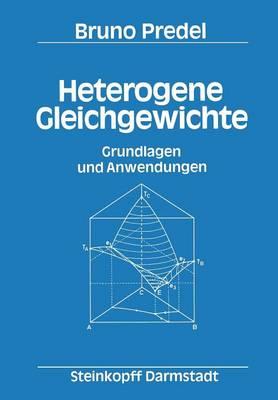 Heterogene Gleichgewichte (Paperback)