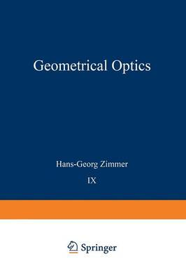 Geometrical Optics - Applied Physics and Engineering 9 (Paperback)