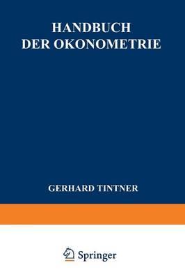 Handbuch Der konometrie (Paperback)