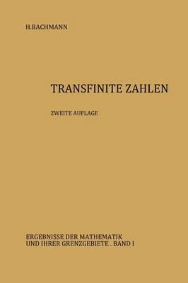Transfinite Zahlen - Ergebnisse Der Mathematik Und Ihrer Grenzgebiete. 2. Folge 1 (Paperback)