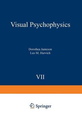 Visual Psychophysics - Handbook of Sensory Physiology 7 / 4 (Paperback)