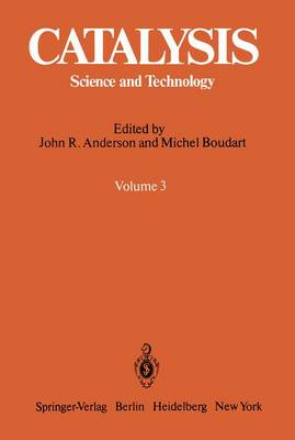 Catalysis: Science and Technology - Catalysis 3 (Paperback)