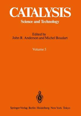 Catalysis: Science and Technology - Catalysis 6 (Paperback)