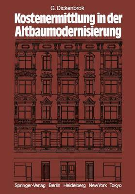 Kostenermittlung in der Altbaumodernisierung (Paperback)