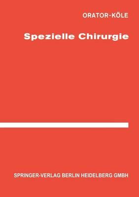 Spezielle Chirurgie (Paperback)