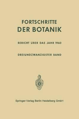 Bericht ber Das Jahr 1960 - Progress in Botany 23 (Paperback)
