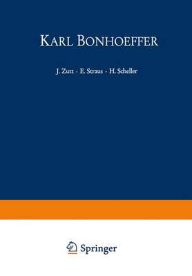 Karl Bonhoeffer (Paperback)