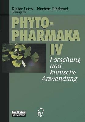 Phytopharmaka: IV (Paperback)