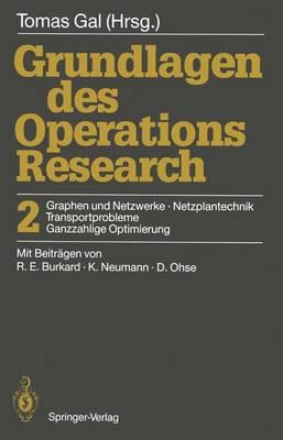Grundlagen des Operations Research (Paperback)