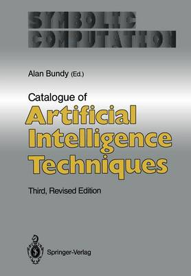 Catalogue of Artificial Intelligence Techniques - Artificial Intelligence (Paperback)
