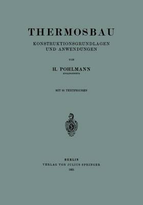 Thermosbau: Konstruktionsgrundlagen Und Anwendungen (Paperback)
