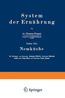 System Der Ernahrung: Dritter Teil: Nemkuche (Paperback)