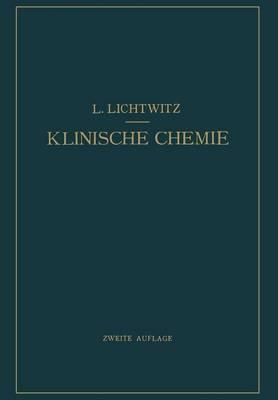 Klinische Chemie (Paperback)