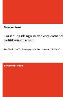 Forschungsdesign in Der Vergleichenden Politikwissenschaft (Paperback)