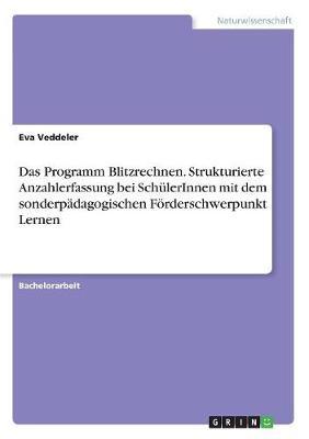Das Programm Blitzrechnen. Strukturierte Anzahlerfassung Bei Schulerinnen Mit Dem Sonderpadagogischen Forderschwerpunkt Lernen (Paperback)