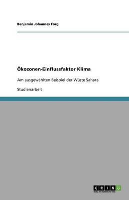 kozonen-Einflussfaktor Klima (Paperback)