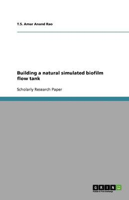 Building a Natural Simulated Biofilm Flow Tank (Paperback)