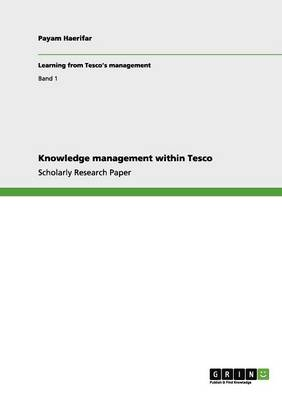 Knowledge Management Within Tesco (Paperback)