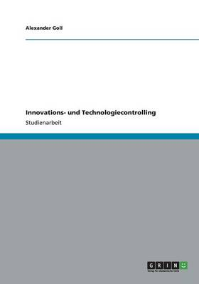 Innovations- und Technologiecontrolling (Paperback)
